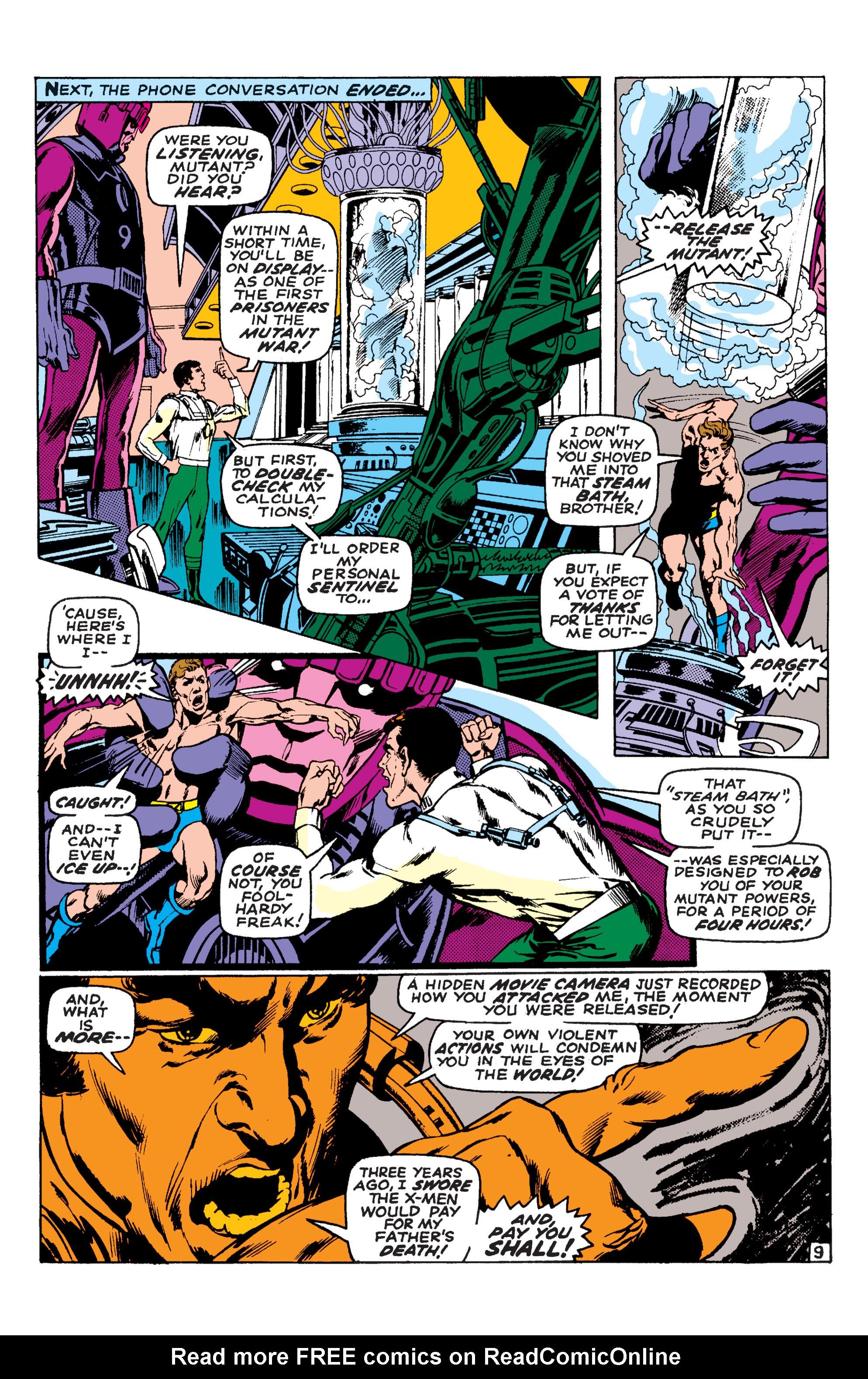 Read online Uncanny X-Men (1963) comic -  Issue #58 - 9