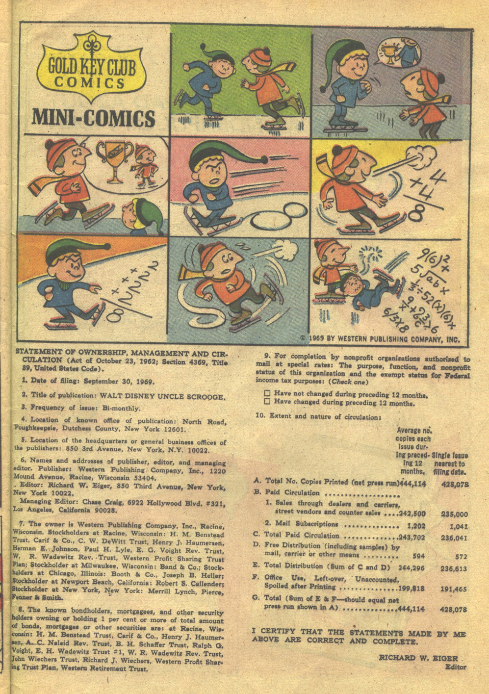 Read online Uncle Scrooge (1953) comic -  Issue #85 - 33