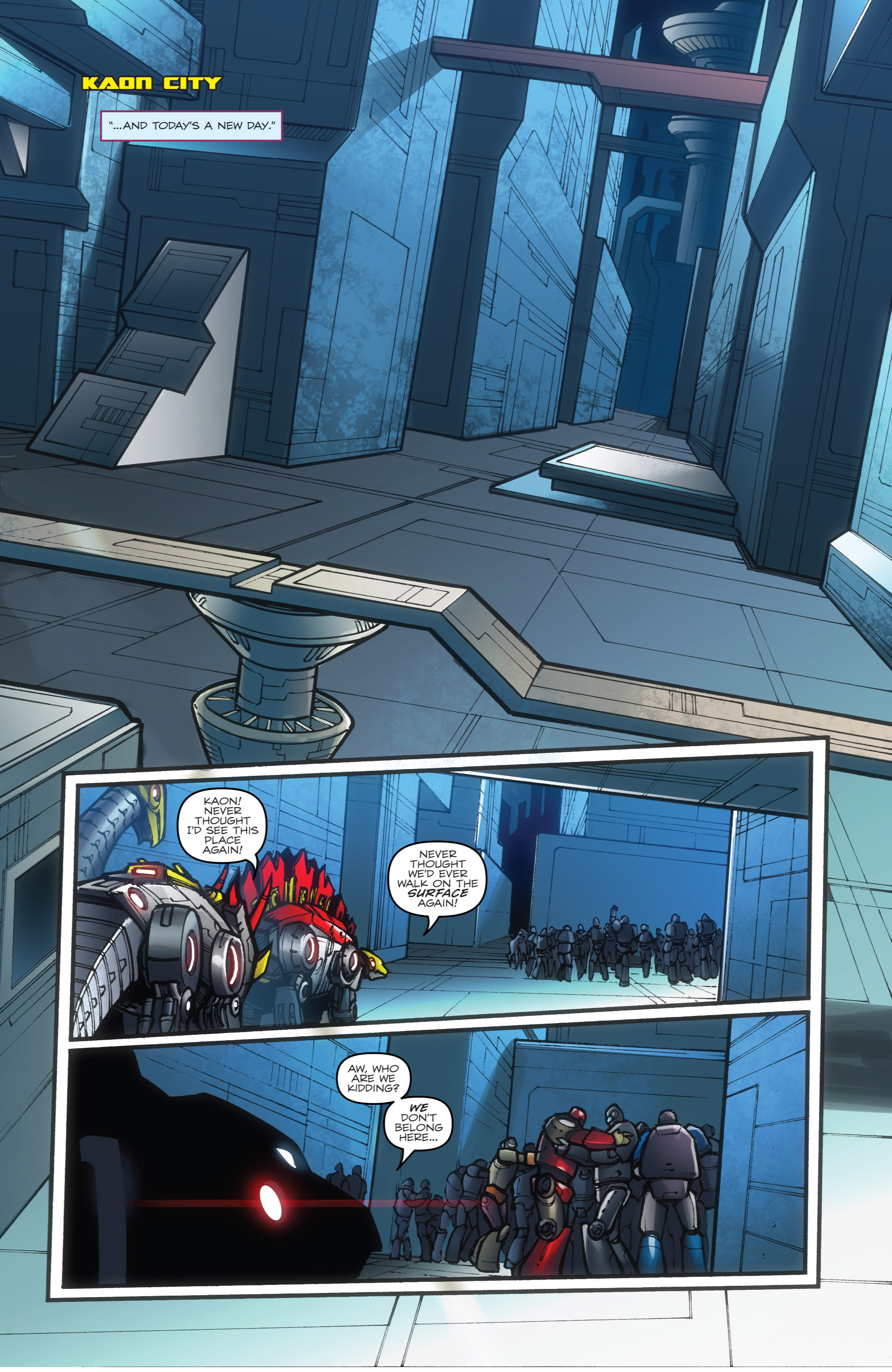 Read online Transformers Prime: Beast Hunters comic -  Issue #8 - 19