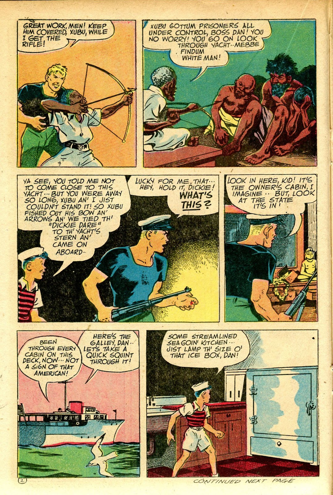 Read online Famous Funnies comic -  Issue #129 - 22