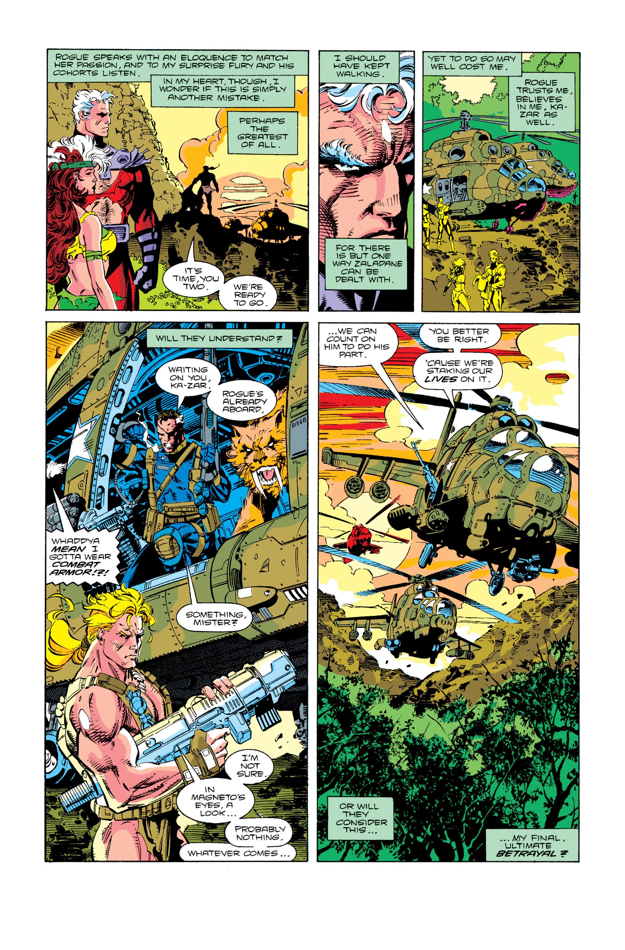 Read online Uncanny X-Men (1963) comic -  Issue #274 - 18