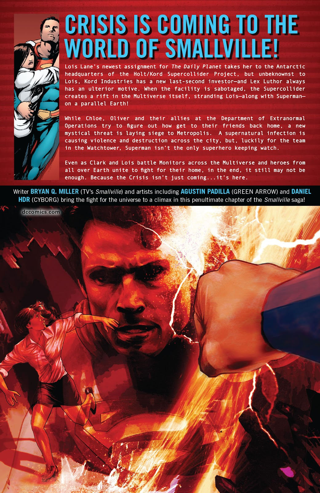 Read online Smallville Season 11 [II] comic -  Issue # TPB 8 - 175