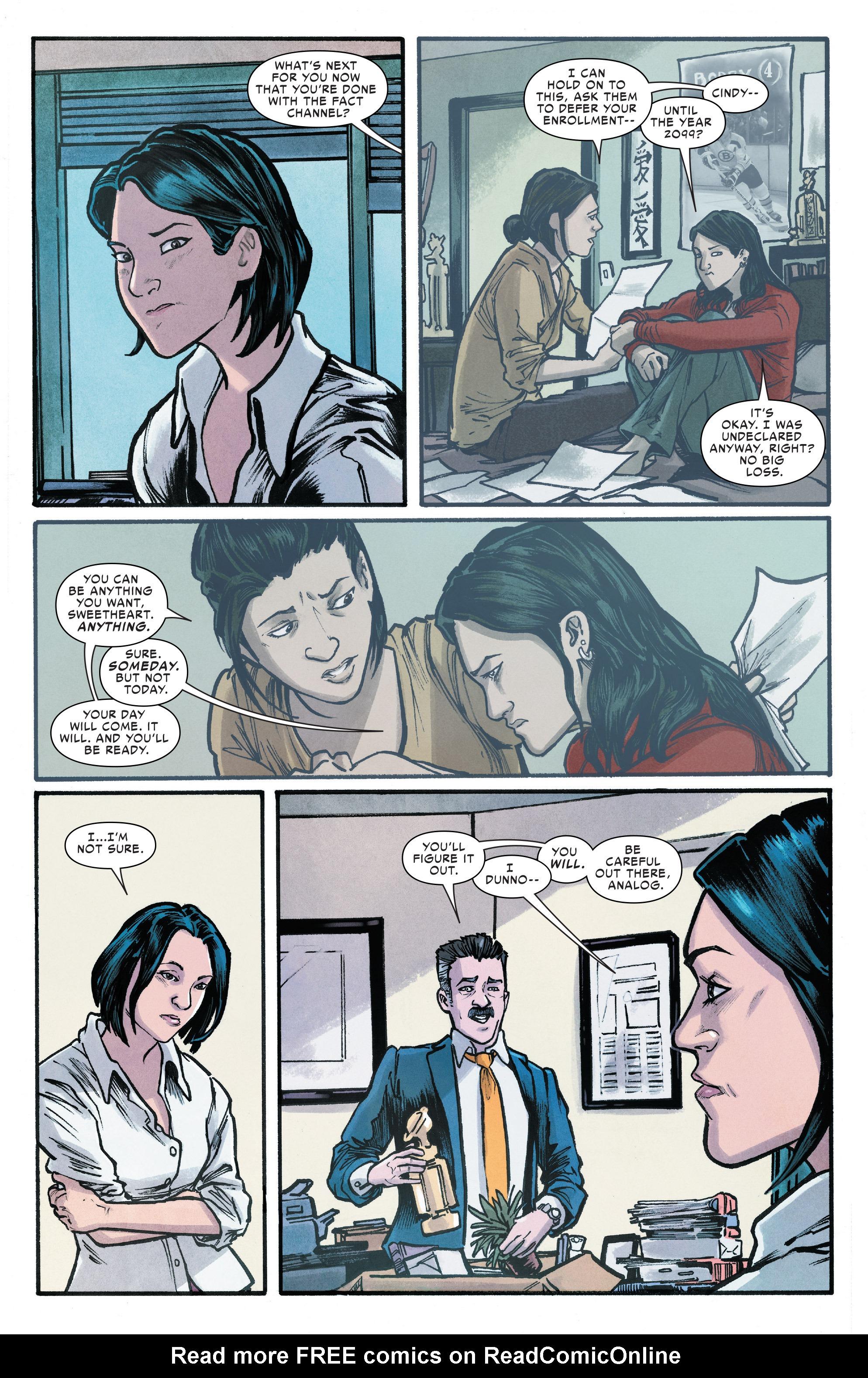 Read online Silk (2016) comic -  Issue #18 - 11