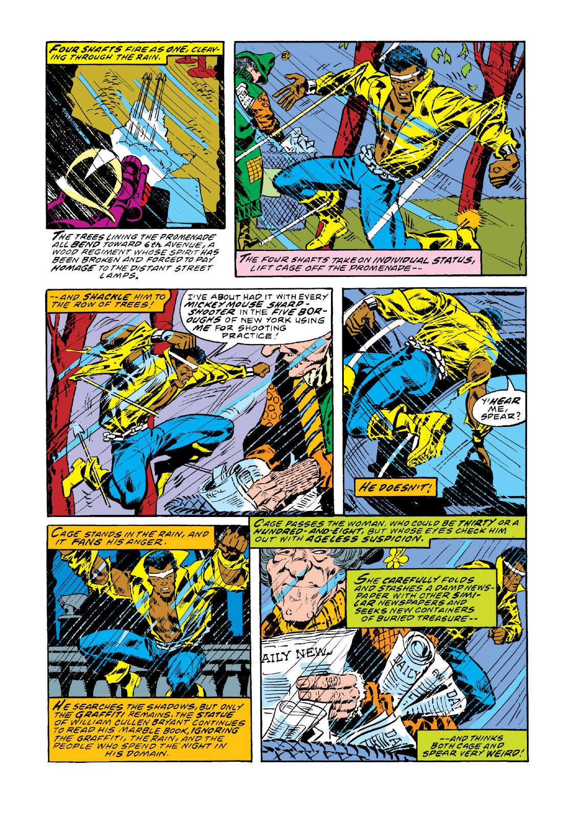 Read online Marvel Masterworks: Luke Cage, Power Man comic -  Issue # TPB 3 (Part 1) - 36
