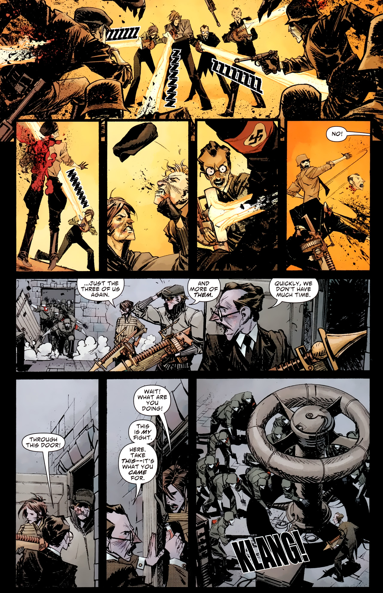 Read online American Vampire: Survival of the Fittest comic -  Issue #4 - 18