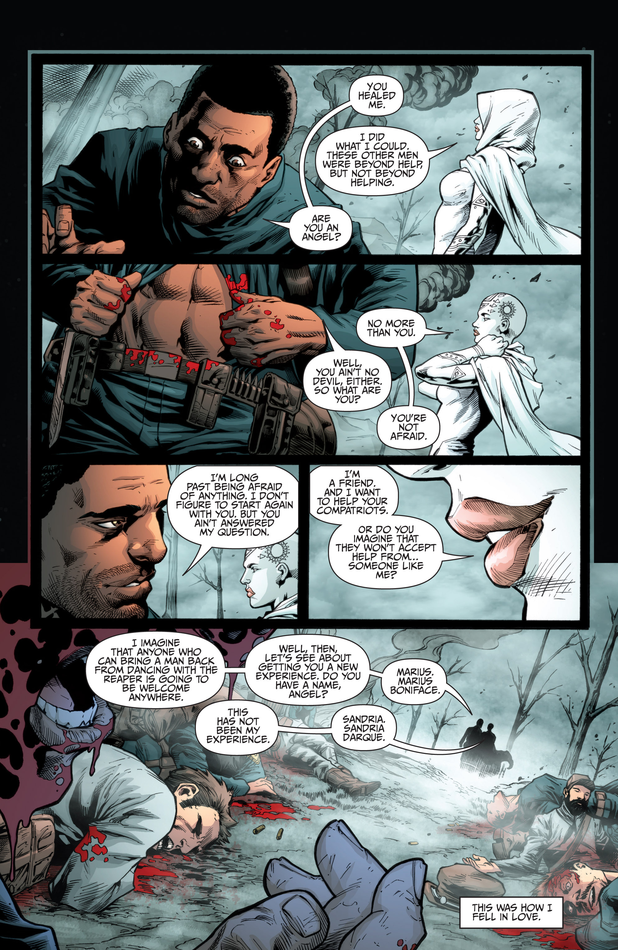 Read online Shadowman (2012) comic -  Issue #10 - 5