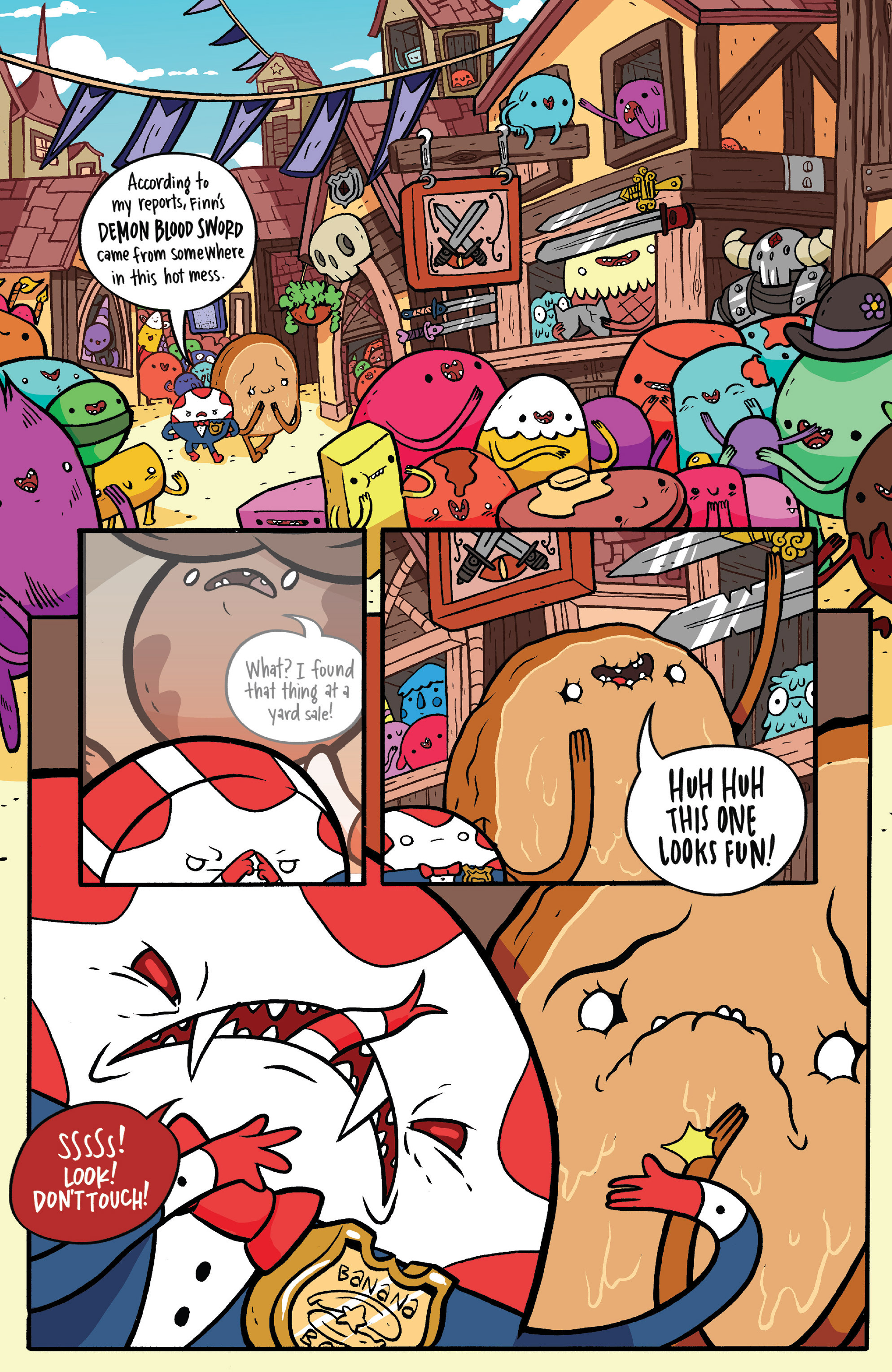 Read online Adventure Time: Candy Capers comic -  Issue #4 - 7