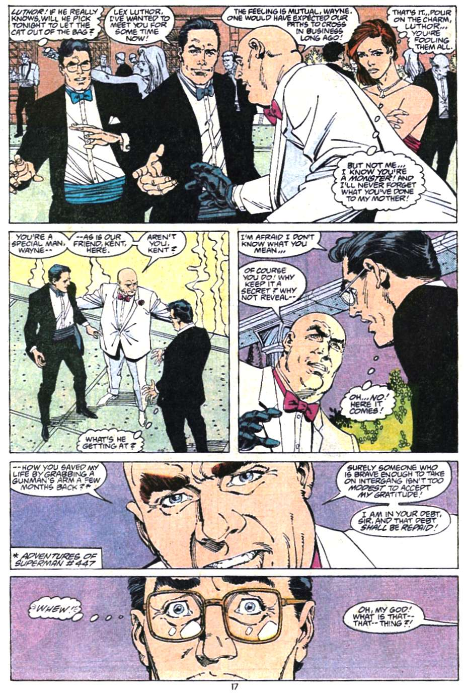 Read online Adventures of Superman (1987) comic -  Issue #467 - 19