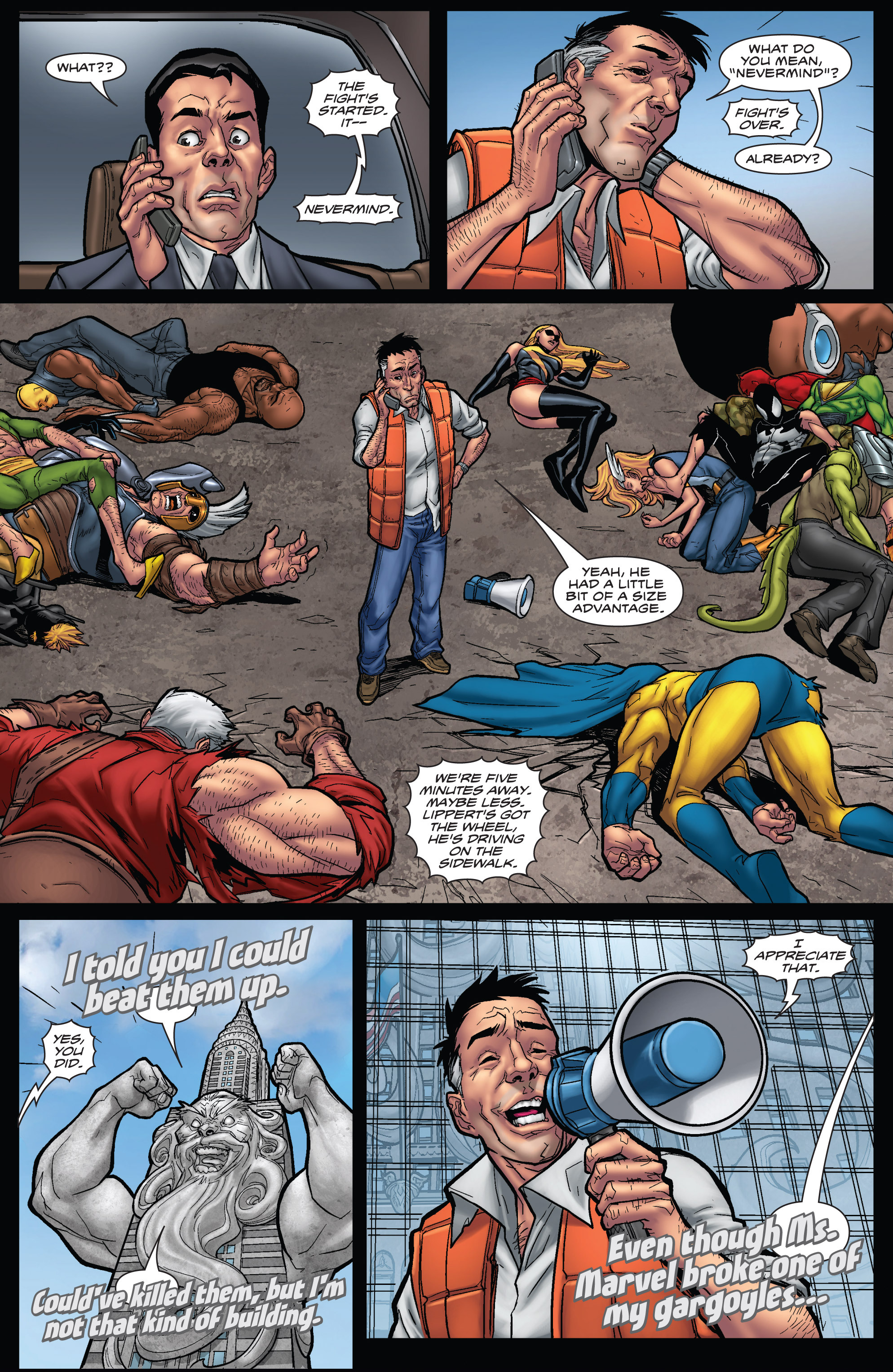 Read online WWH Aftersmash: Damage Control comic -  Issue #3 - 17