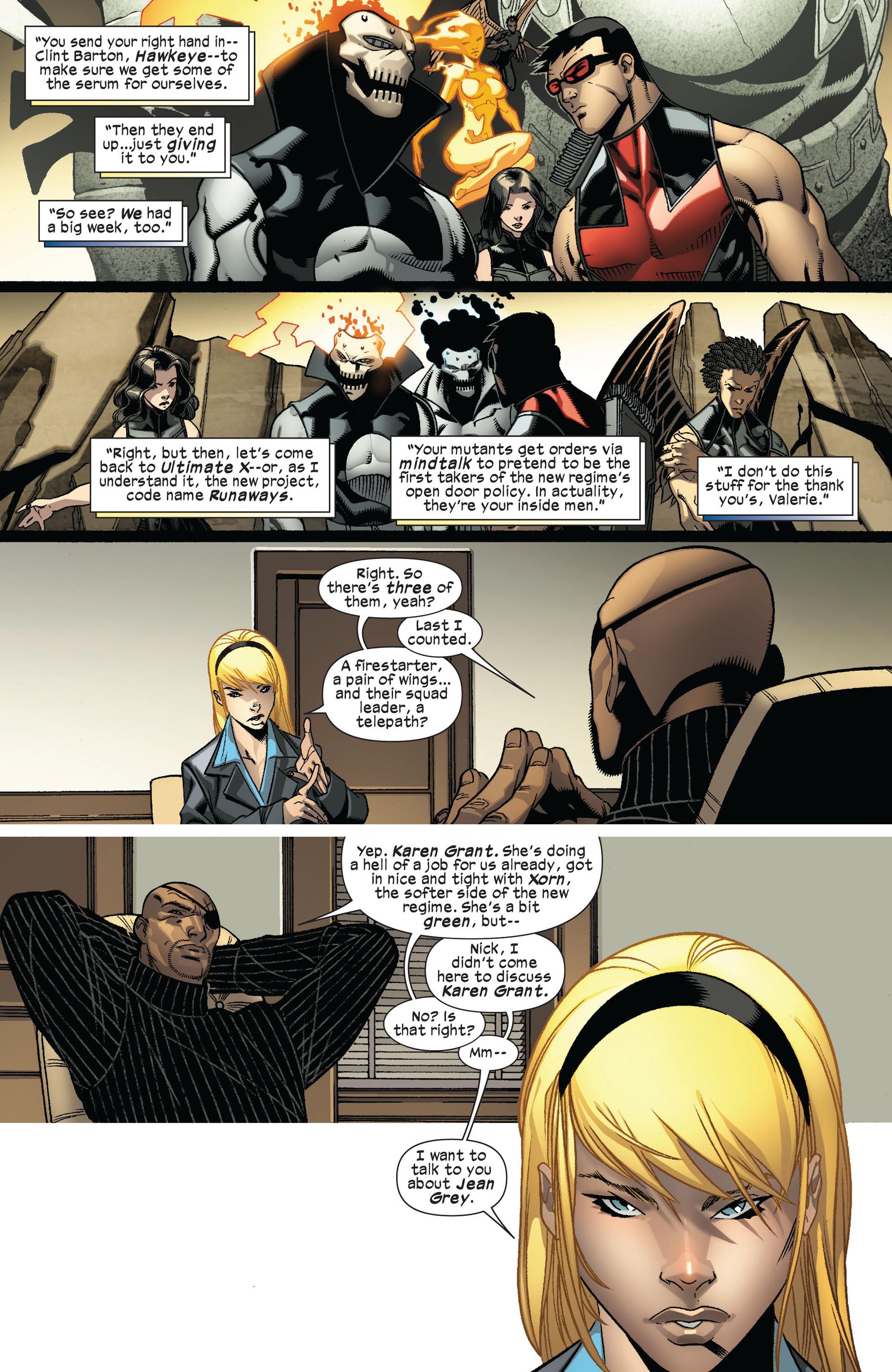 Read online Ultimate Comics X-Men comic -  Issue #8 - 7