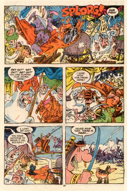 Read online Sergio Aragonés Groo the Wanderer comic -  Issue #46 - 21