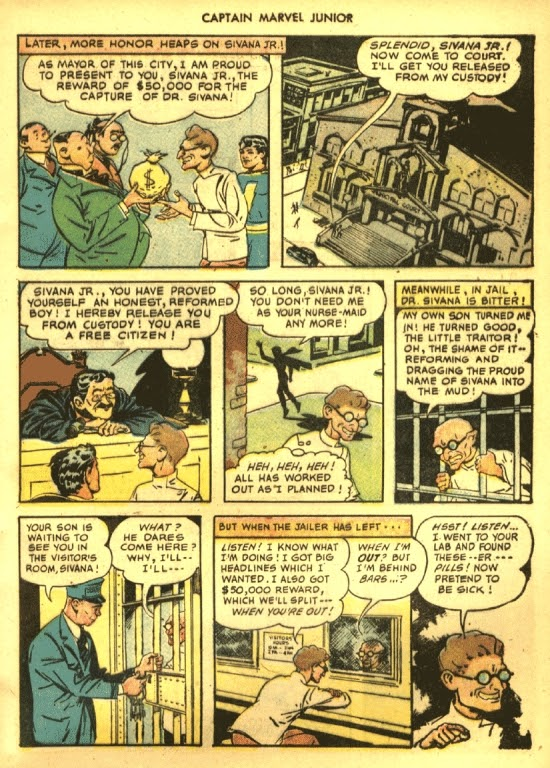 Captain Marvel, Jr. issue 39 - Page 7