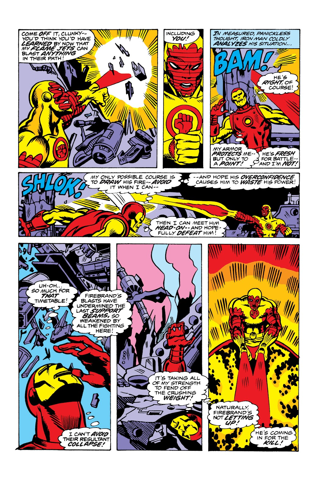 Read online Marvel Masterworks: The Invincible Iron Man comic -  Issue # TPB 10 (Part 2) - 69