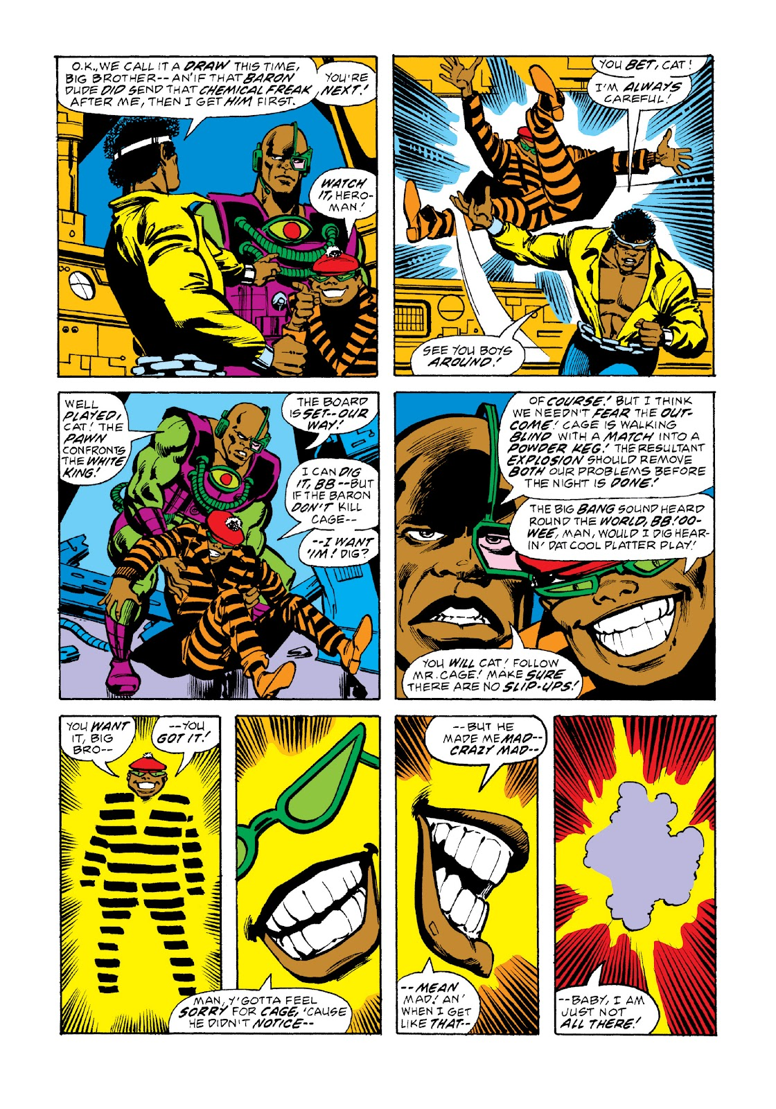 Read online Marvel Masterworks: Luke Cage, Power Man comic -  Issue # TPB 3 (Part 2) - 63