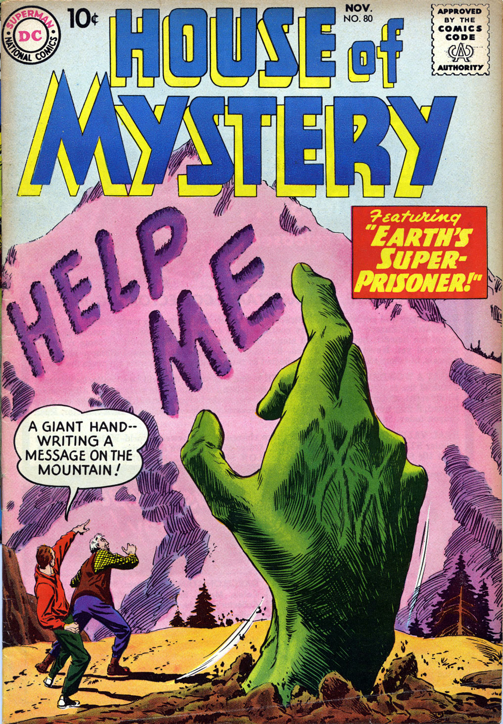 House of Mystery (1951) issue 80 - Page 1