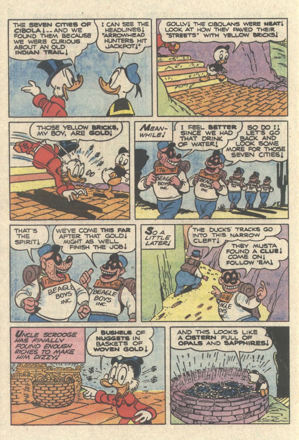 Read online Uncle Scrooge (1953) comic -  Issue #217 - 28