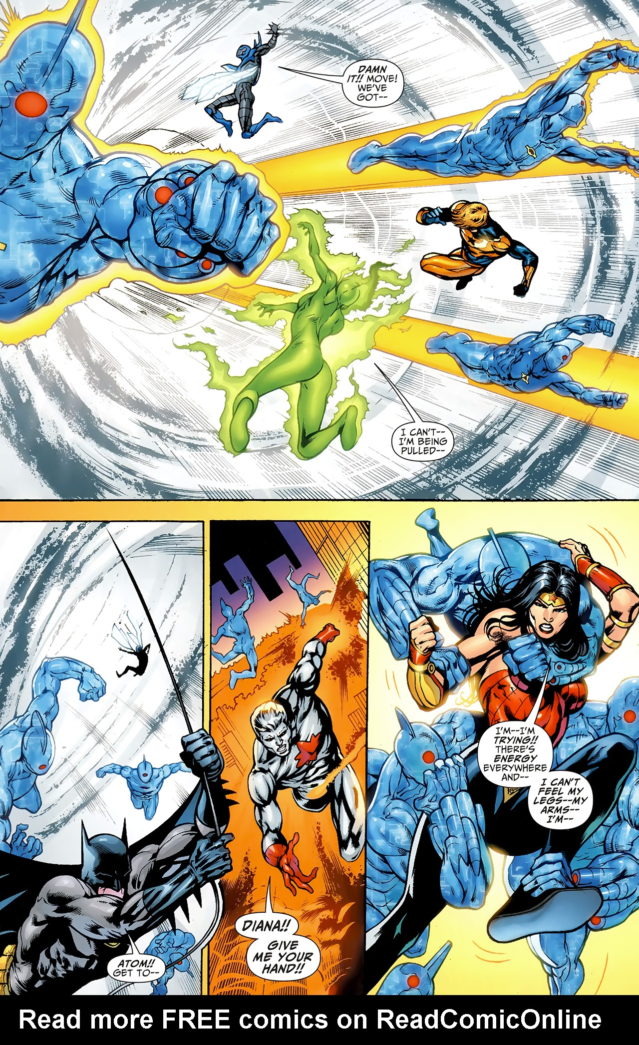 Read online Justice League: Generation Lost comic -  Issue #23 - 8