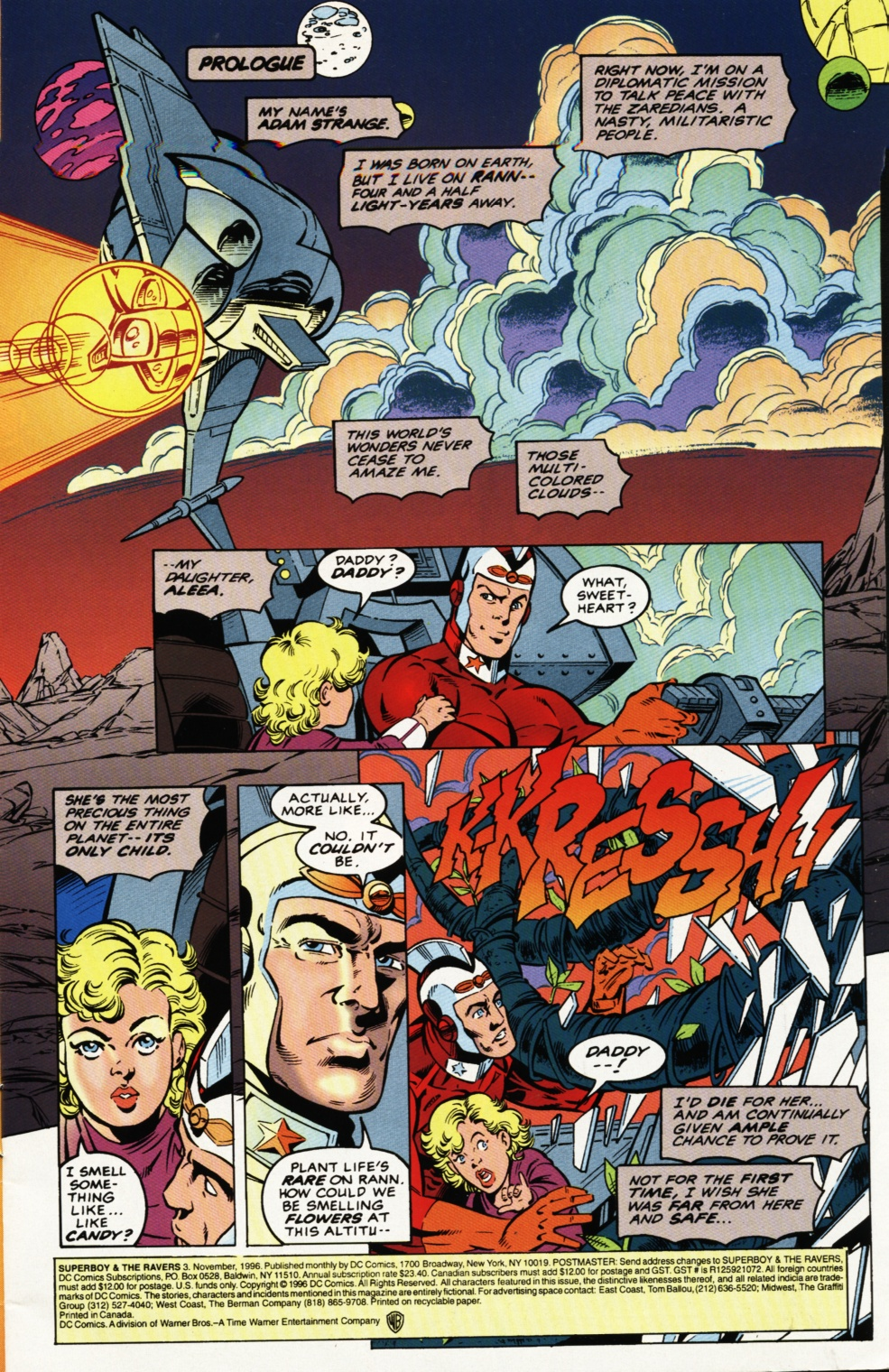 Read online Superboy & The Ravers comic -  Issue #3 - 2