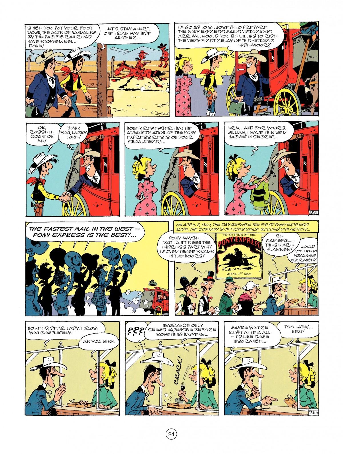 Read online A Lucky Luke Adventure comic -  Issue #46 - 24