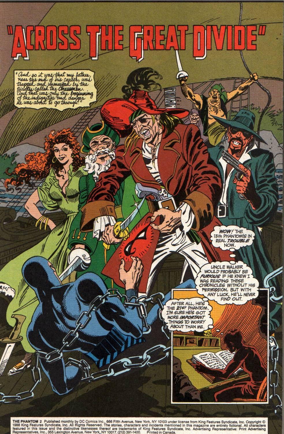 Read online The Phantom (1988) comic -  Issue #2 - 3
