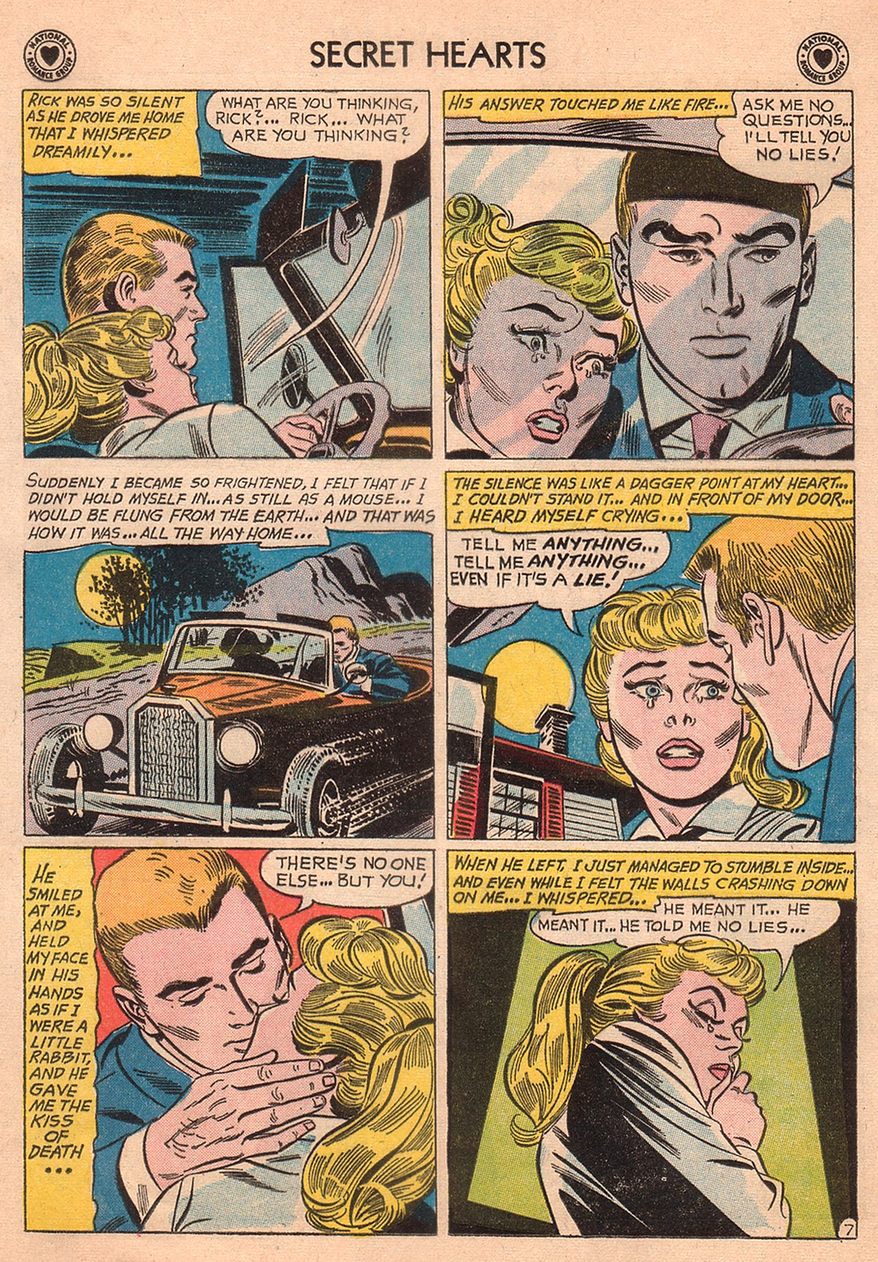 Read online Secret Hearts comic -  Issue #74 - 33