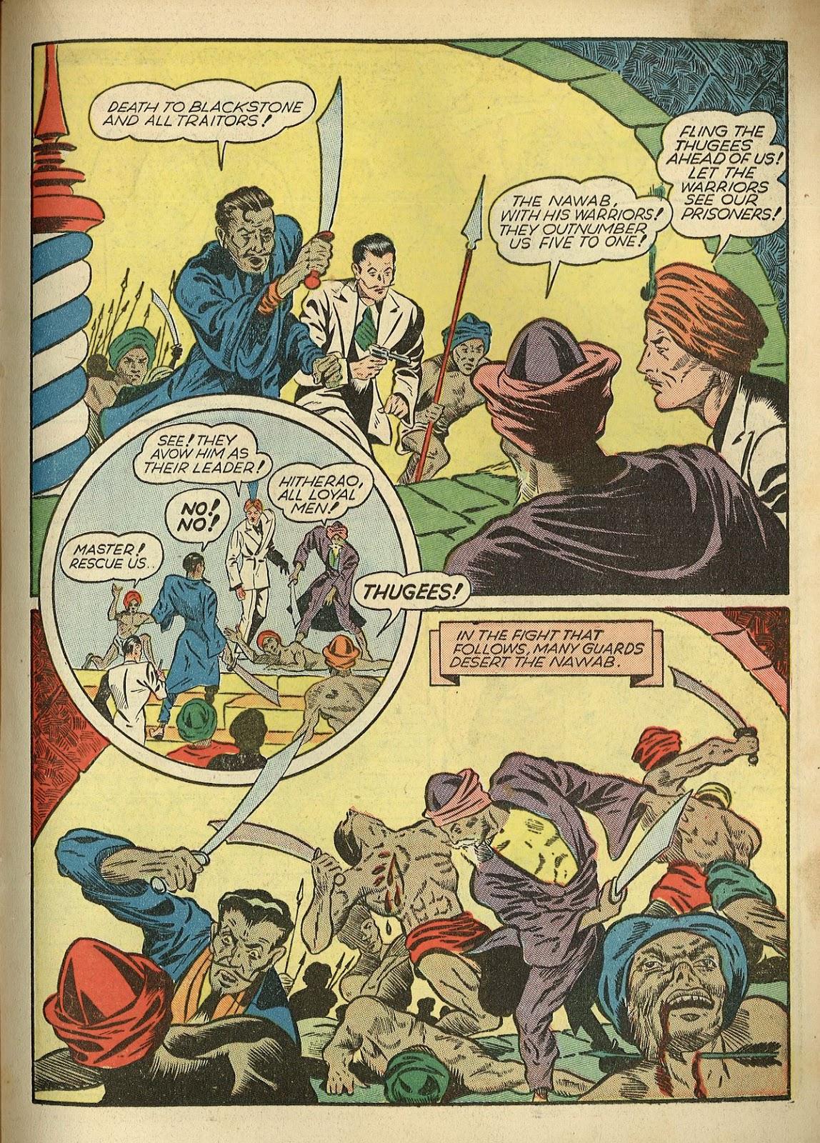 Read online Super-Magician Comics comic -  Issue #1 - 37