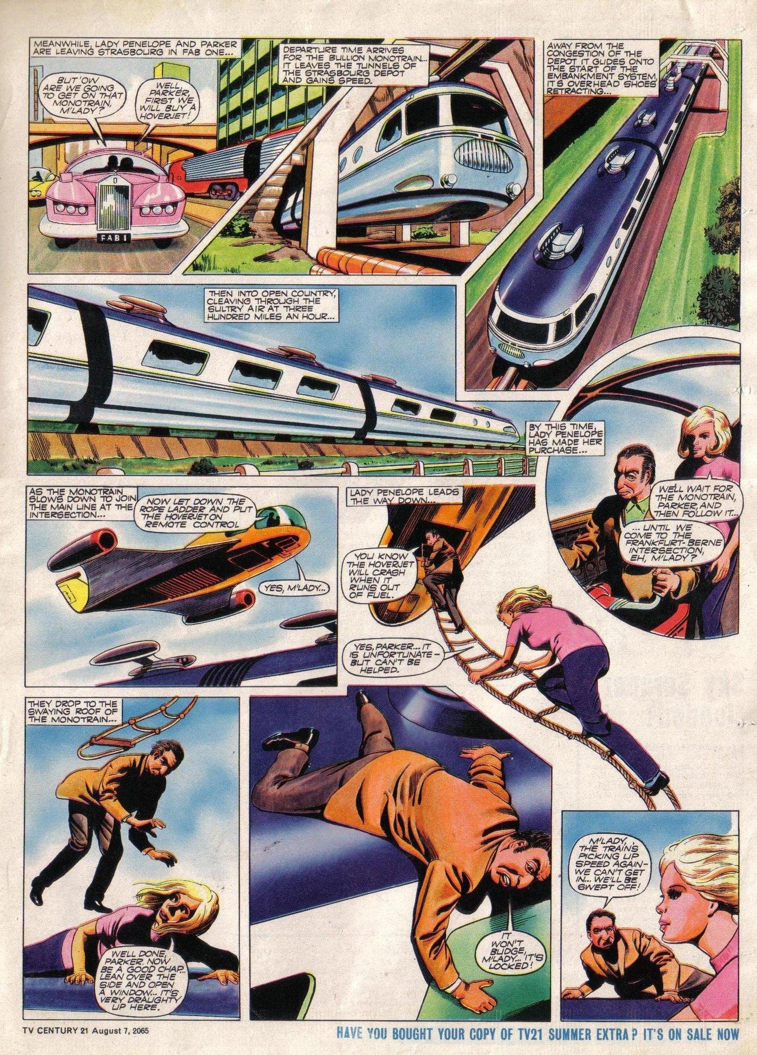 Read online TV Century 21 (TV 21) comic -  Issue #29 - 17