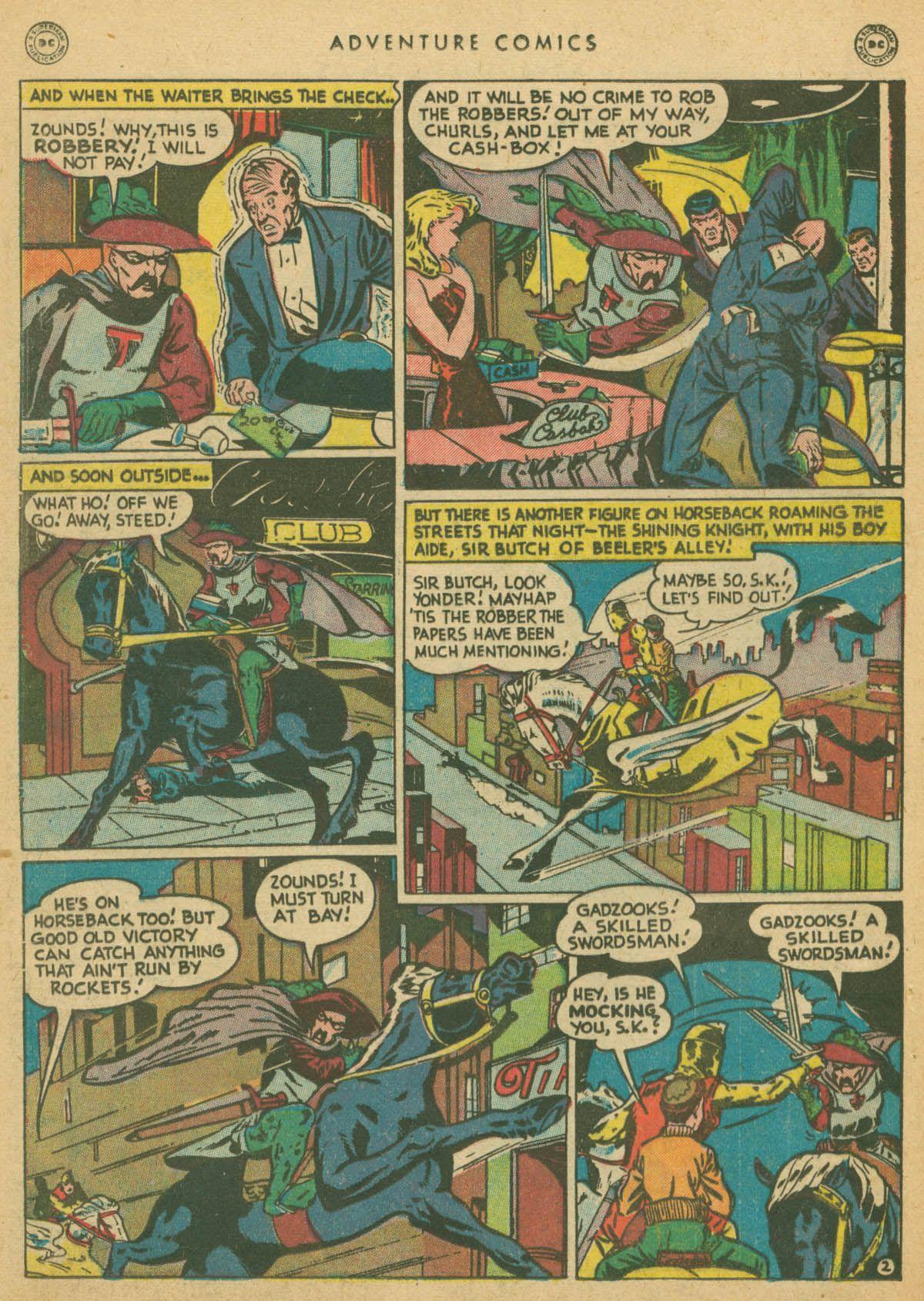 Read online Adventure Comics (1938) comic -  Issue #142 - 33