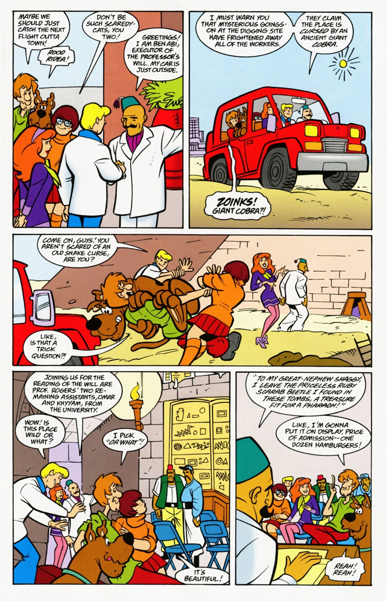 Read online Scooby-Doo: Where Are You? comic -  Issue #7 - 19