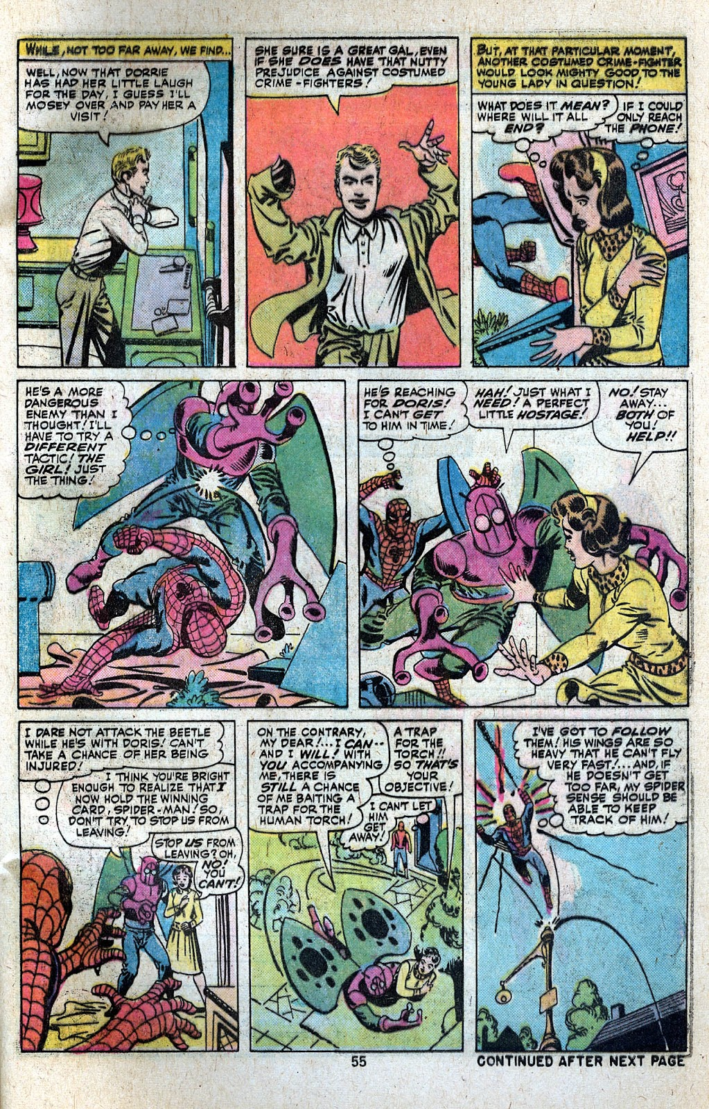 Giant-Size Spider-Man (1974) issue 5 - Page 57