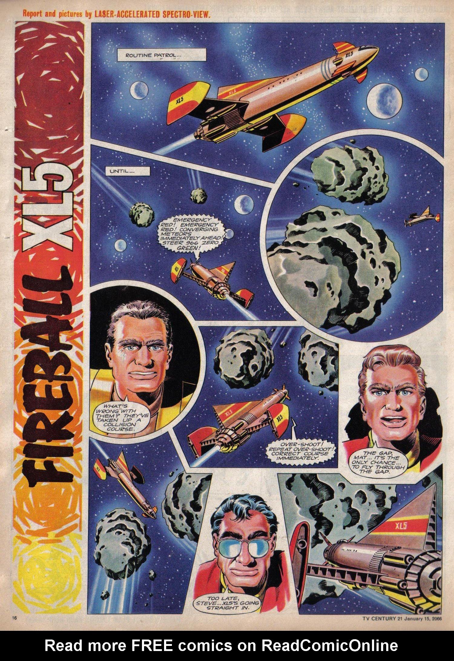 Read online TV Century 21 (TV 21) comic -  Issue #52 - 15
