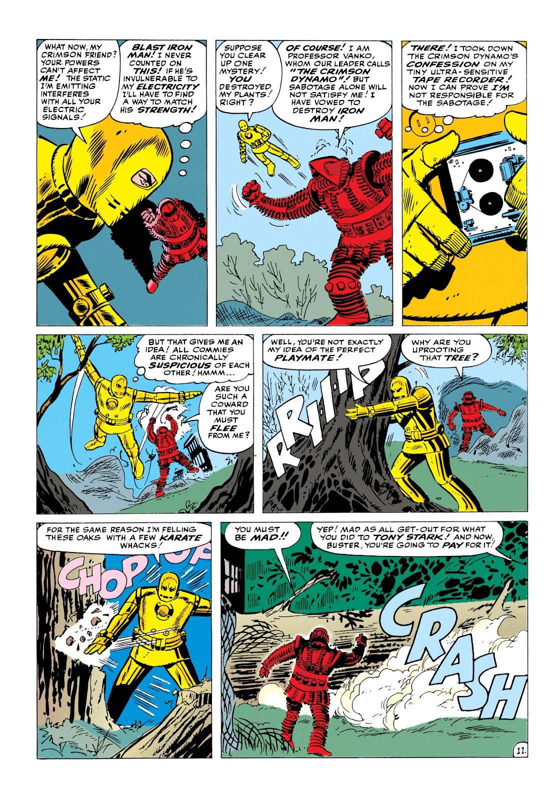 Read online Marvel Masterworks: The Invincible Iron Man comic -  Issue # TPB 1 (Part 2) - 17