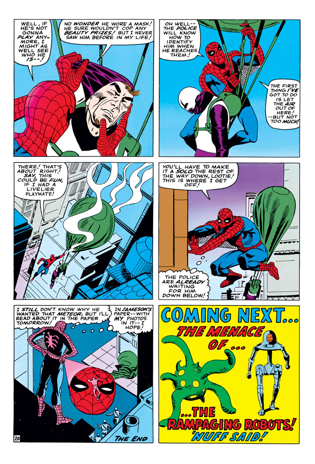 The Amazing Spider-Man (1963) 36 Page 20
