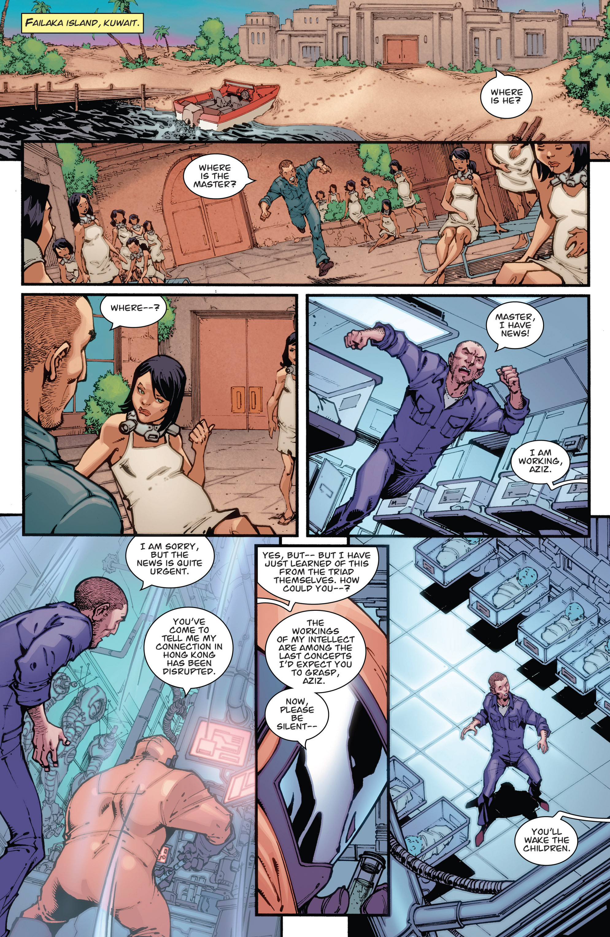 Read online Guarding the Globe (2012) comic -  Issue #1 - 20