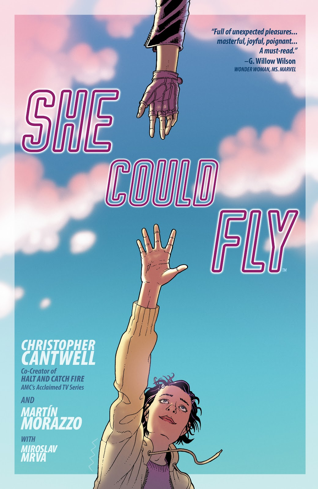Read online She Could Fly comic -  Issue # _TPB - 1