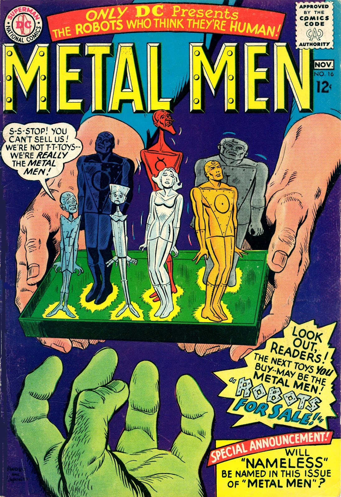 Metal Men (1963) issue 16 - Page 1