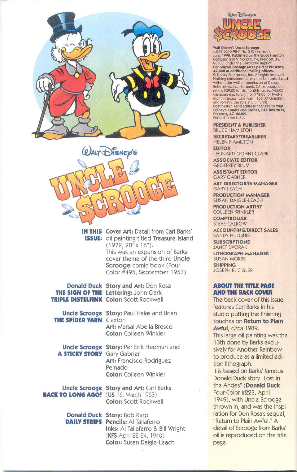 Read online Uncle Scrooge (1953) comic -  Issue #310 - 4