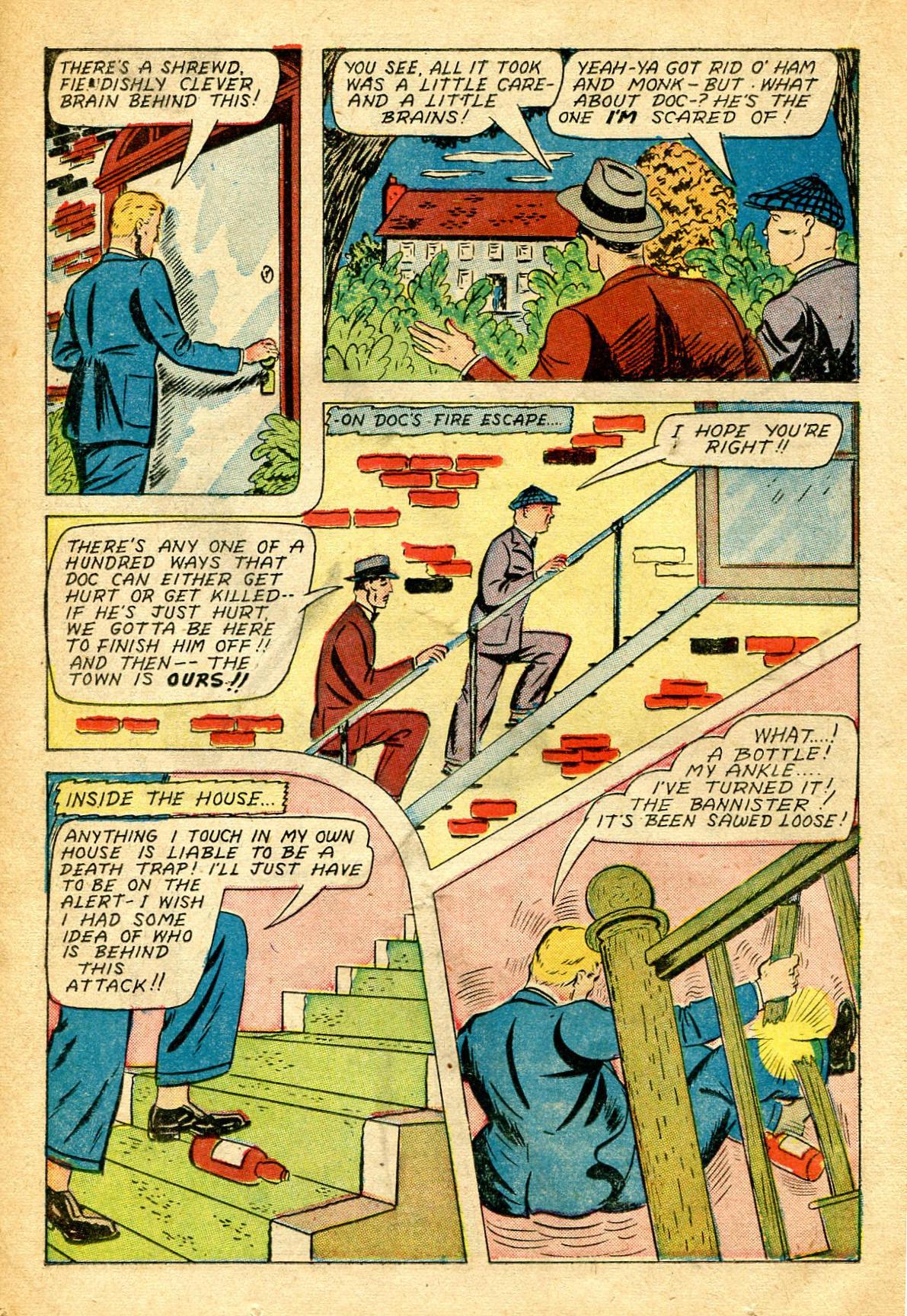 Read online Shadow Comics comic -  Issue #51 - 23
