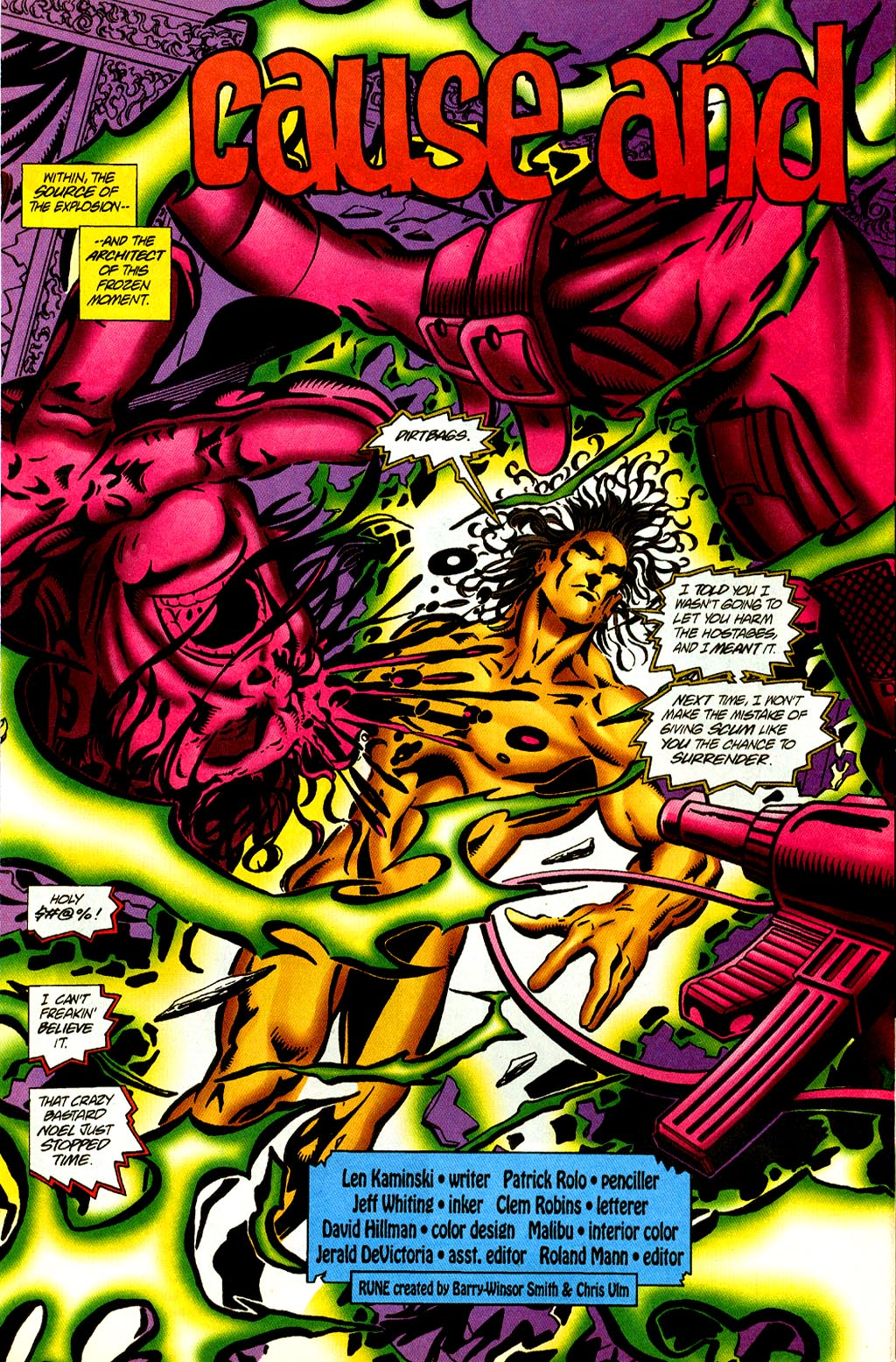 Read online Rune (1995) comic -  Issue #2 - 4