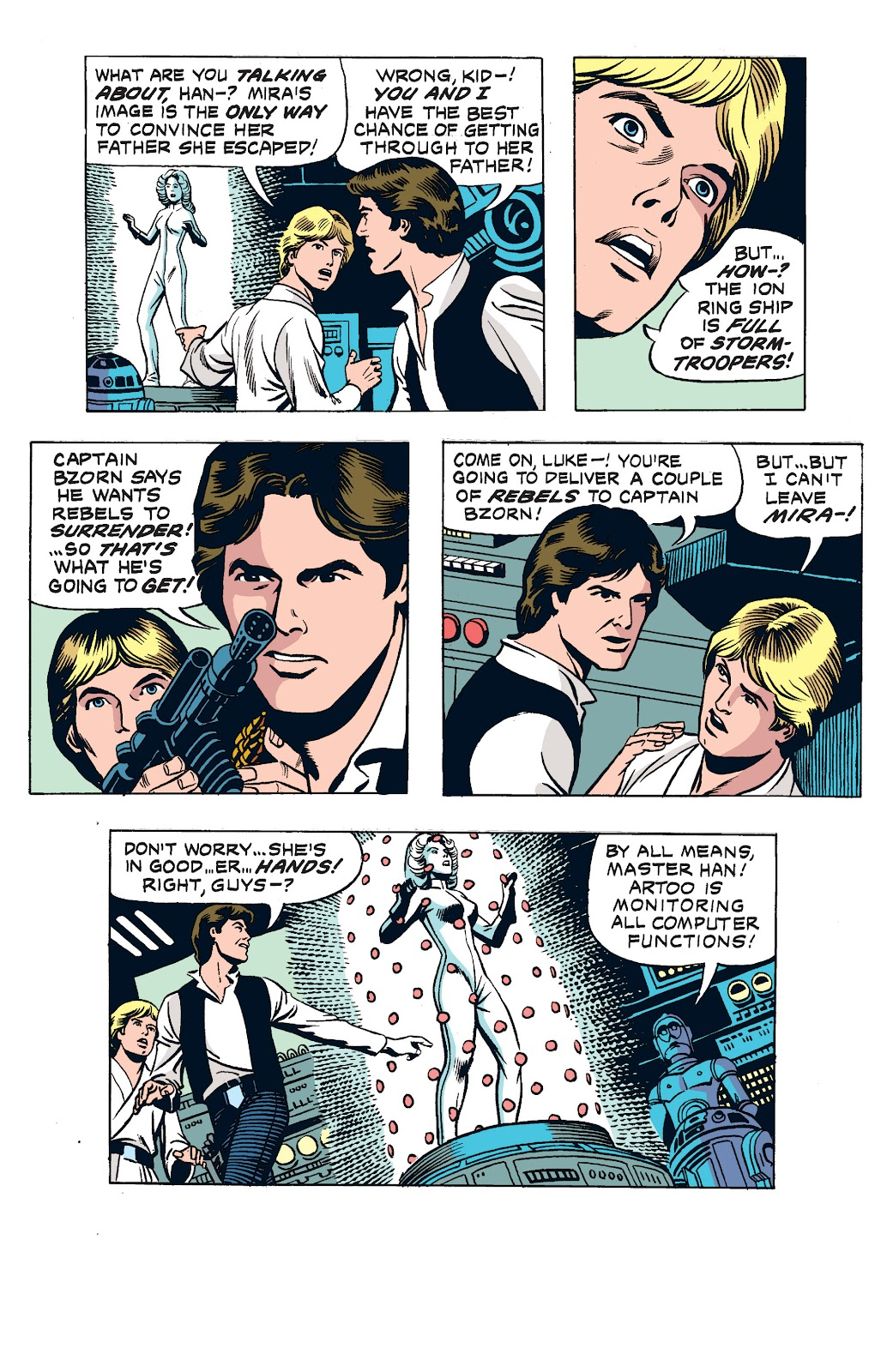 Read online Star Wars Legends: The Newspaper Strips - Epic Collection comic -  Issue # TPB (Part 2) - 92