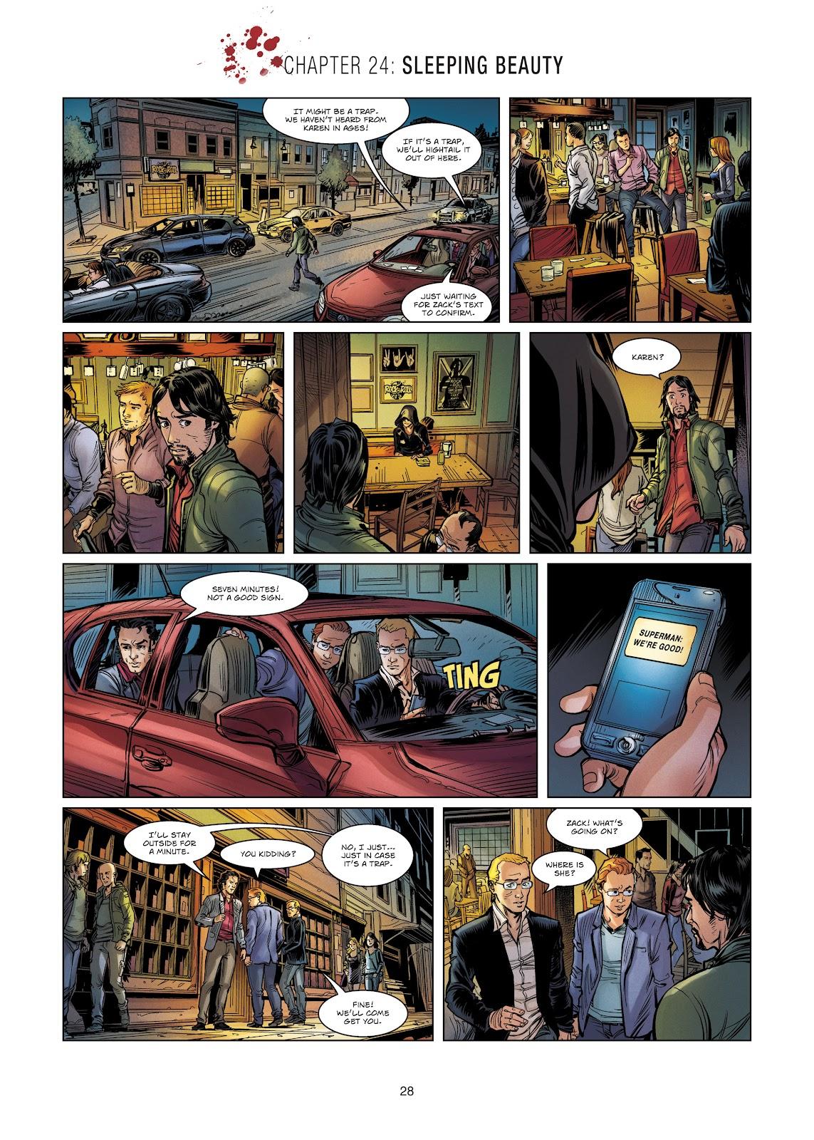 Read online Vigilantes comic -  Issue #4 - 28