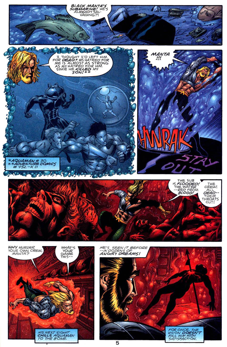 Read online Aquaman (1994) comic -  Issue #58 - 5