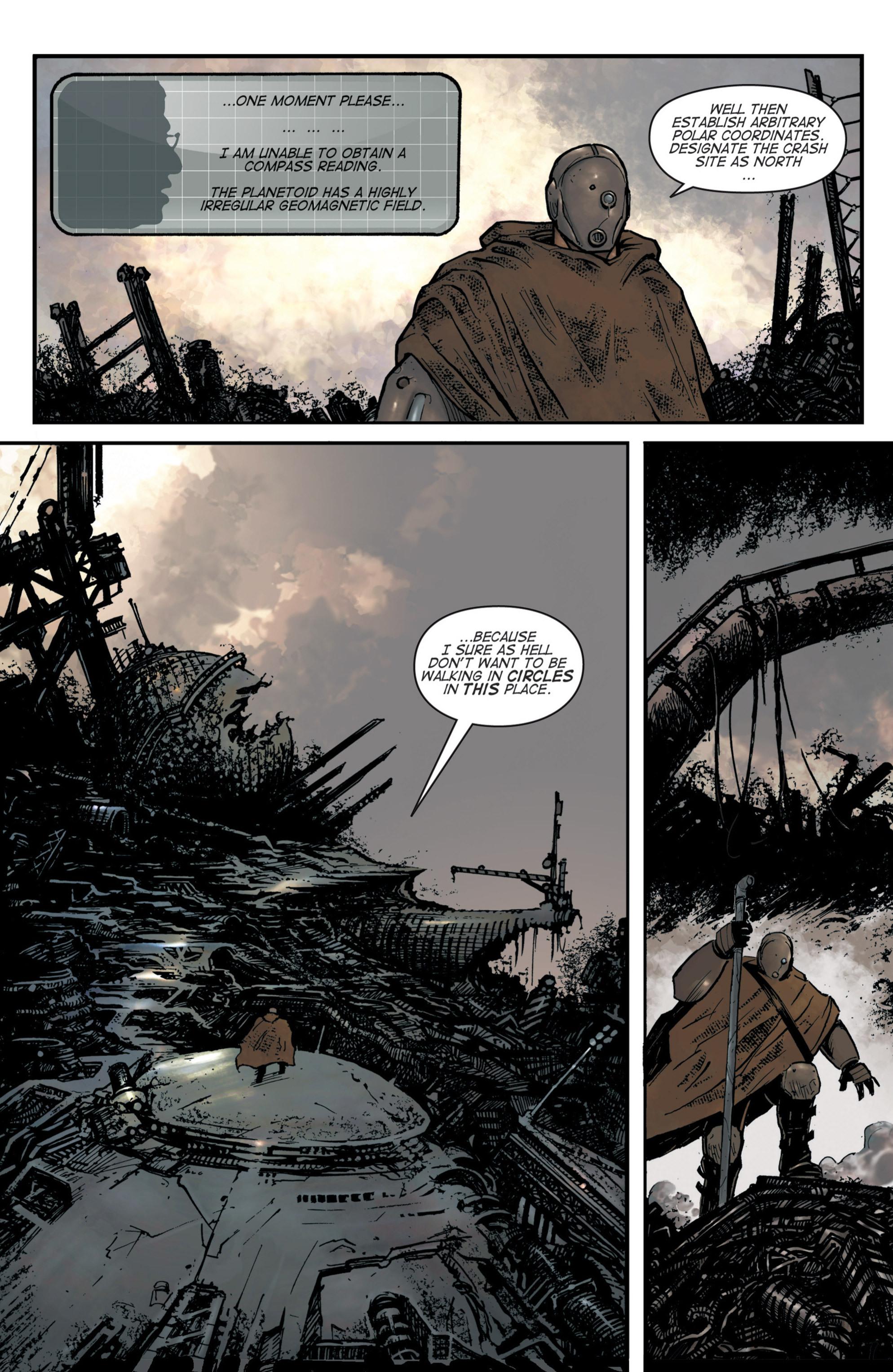 Read online Planetoid comic -  Issue # TPB - 14