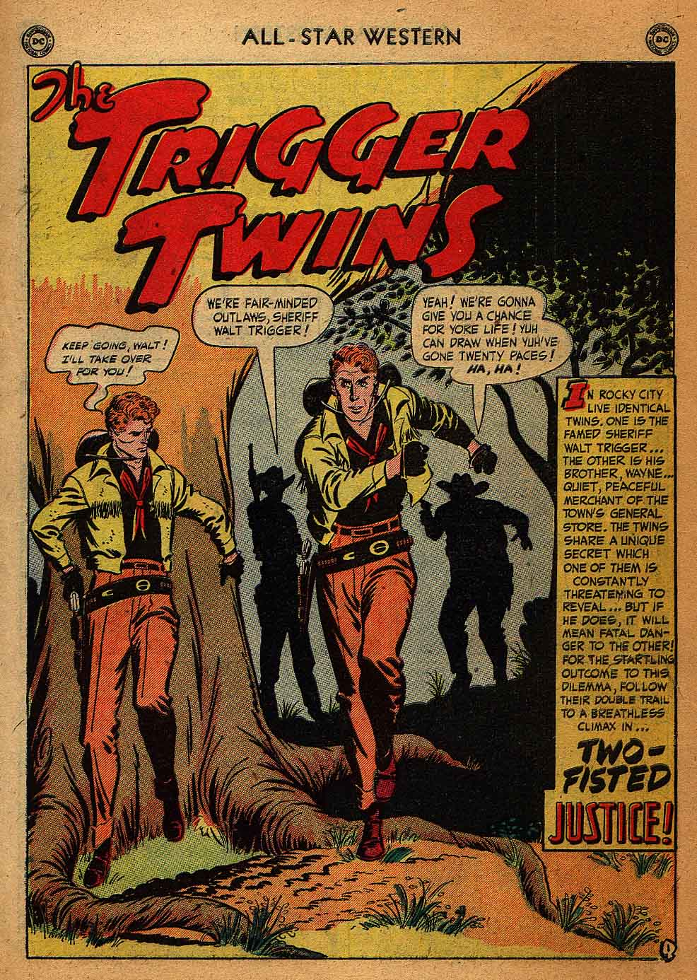 Read online All-Star Western (1951) comic -  Issue #58 - 3
