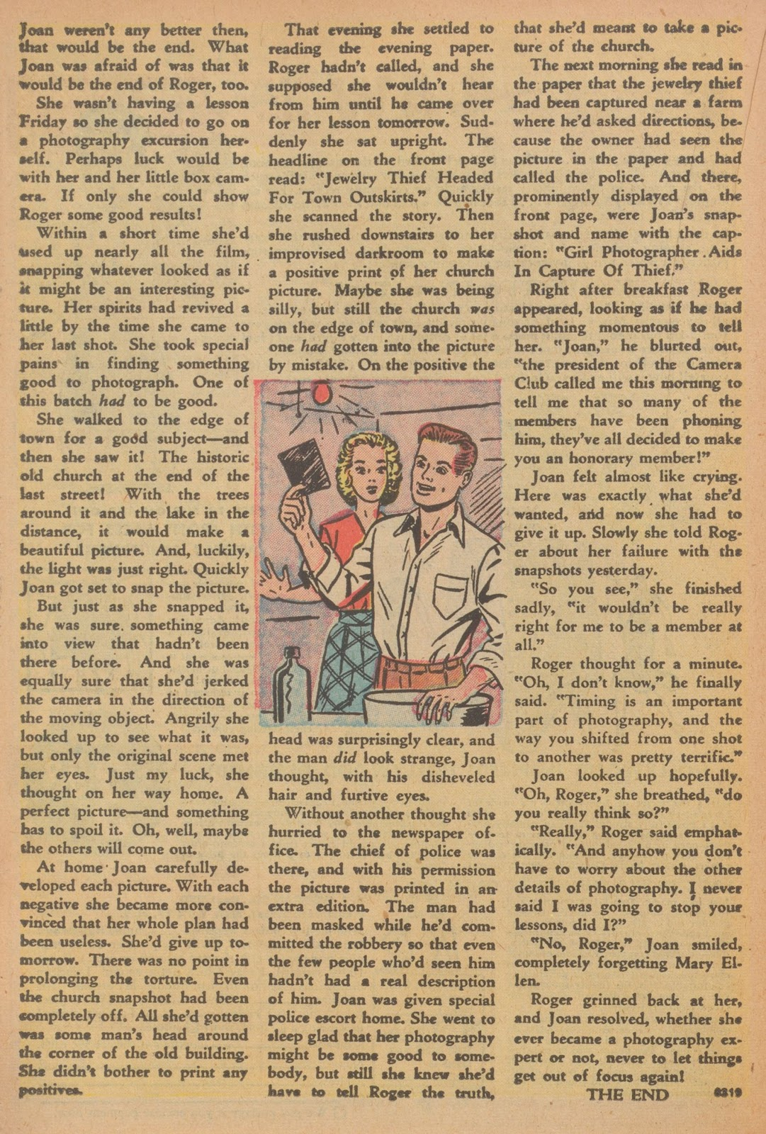 Read online Nellie The Nurse (1945) comic -  Issue #22 - 30