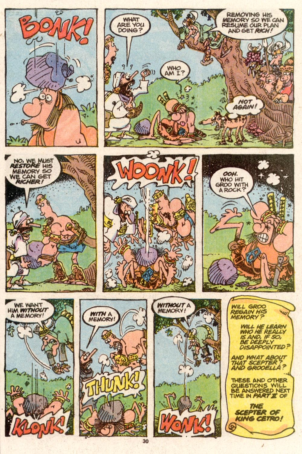 Read online Sergio Aragonés Groo the Wanderer comic -  Issue #73 - 24