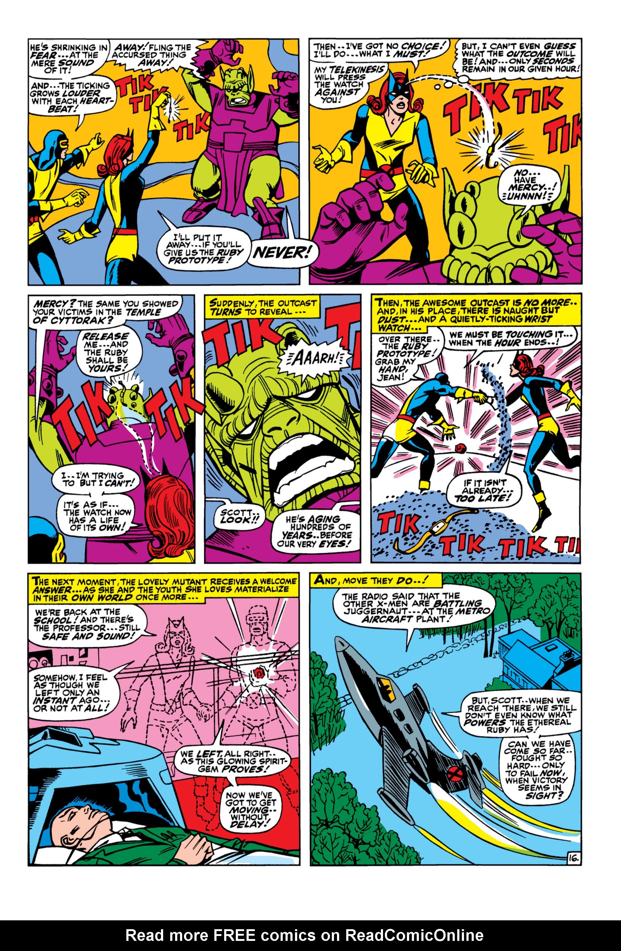 Uncanny X-Men (1963) 33 Page 16