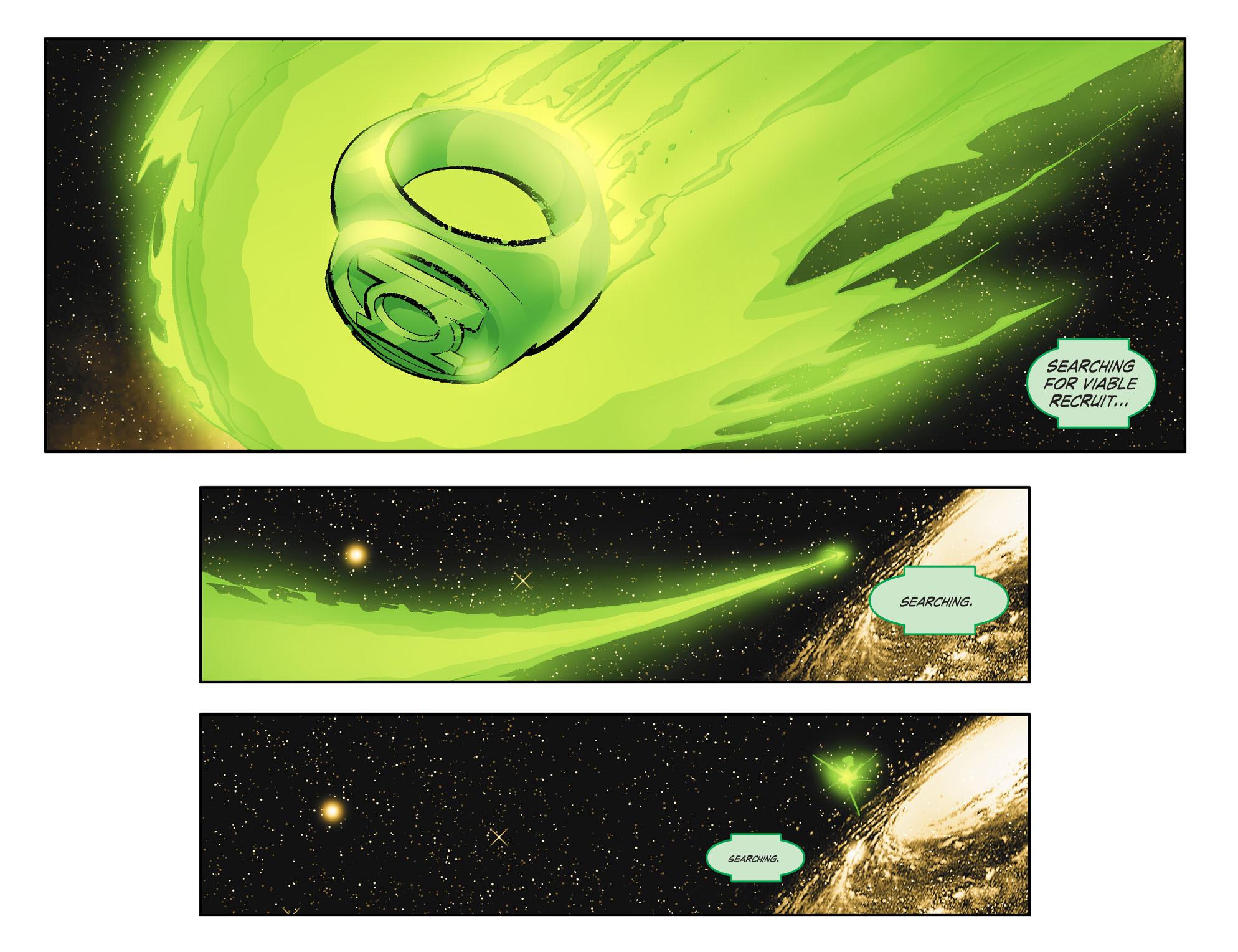 Read online Smallville: Lantern [I] comic -  Issue #1 - 10