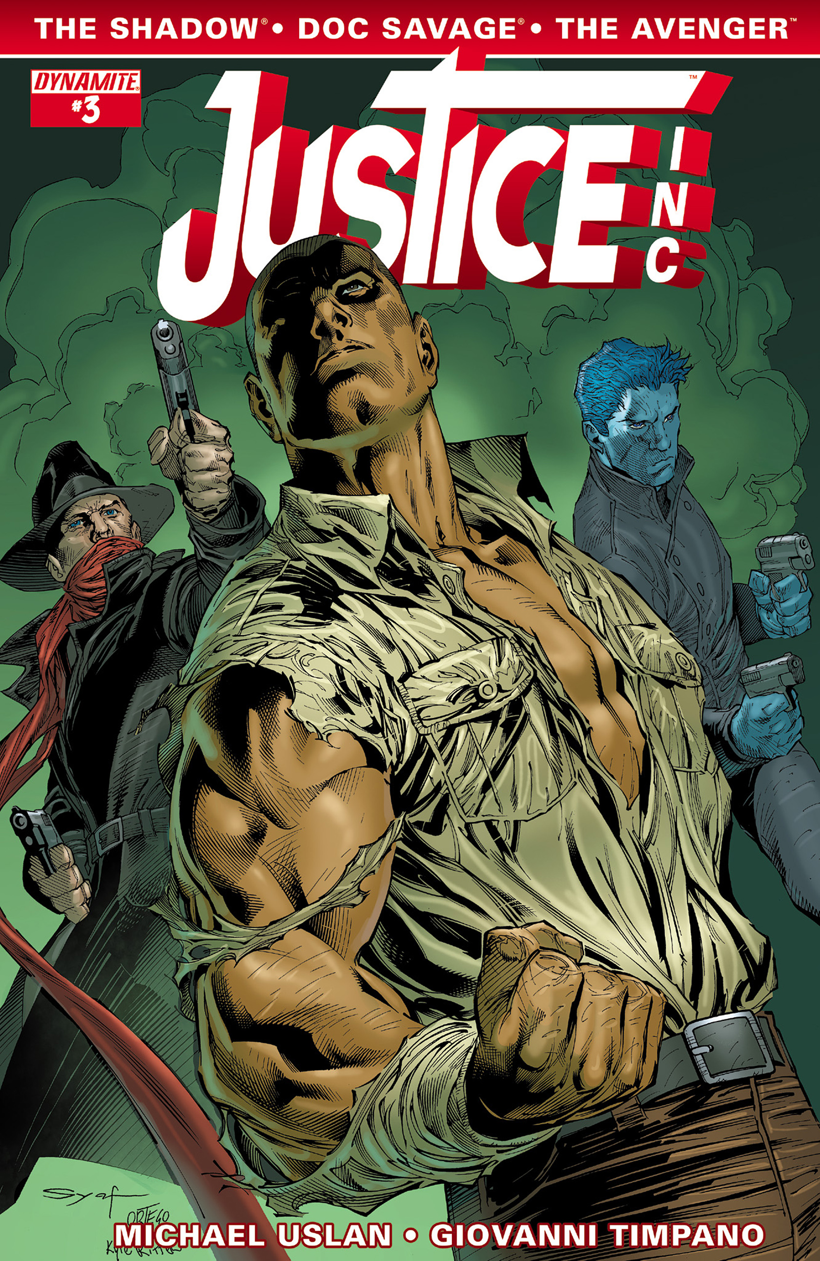 Read online Justice, Inc. comic -  Issue #3 - 4
