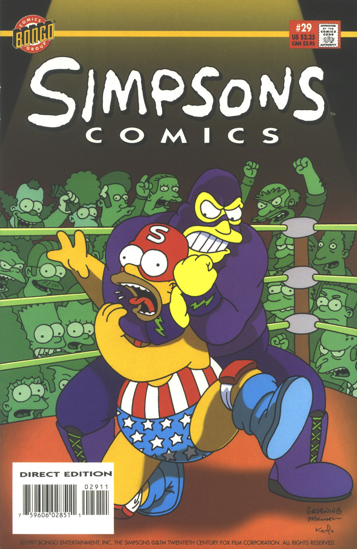 Read online Simpsons Comics comic -  Issue #29 - 1